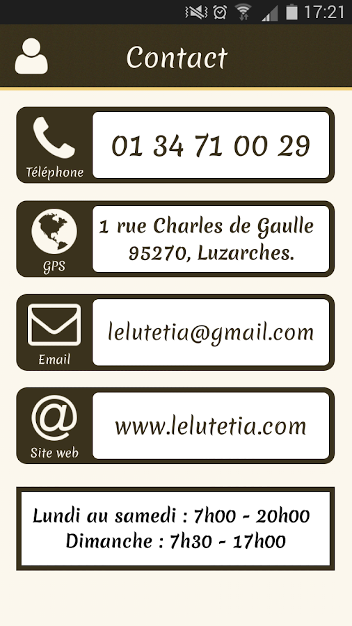 Le Lutetia Luzarches- screenshot