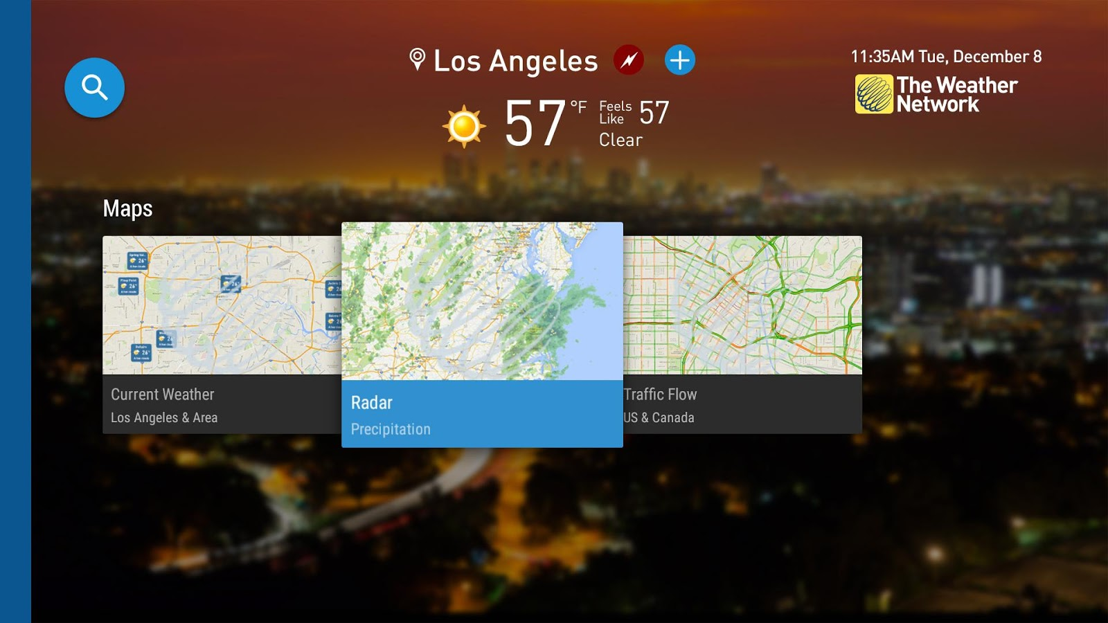 The Weather Network TV App Android Apps On Google Play - Us weather network map