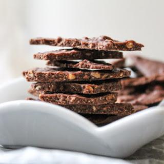 Honey Almond Dark Chocolate Bark