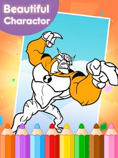 coloring book games for ban 10 screenshot thumbnail - Coloring Book Games