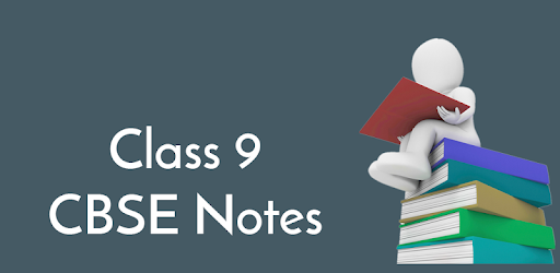 Class 9 CBSE Notes for PC