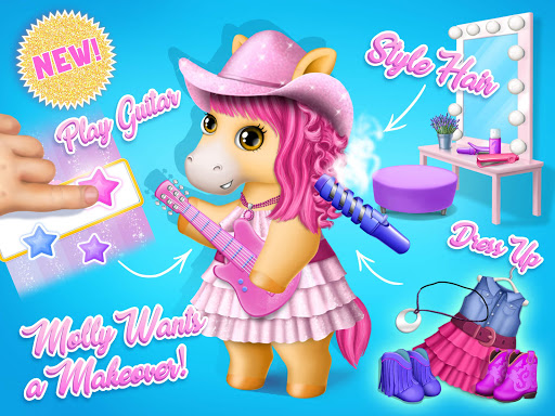 Pony Sisters Pop Music Band - Play, Sing & Design screenshots 9
