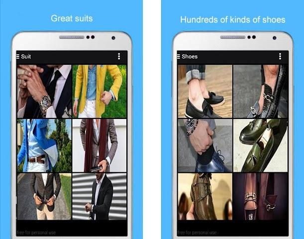 android Men Fashion 2016 Screenshot 1