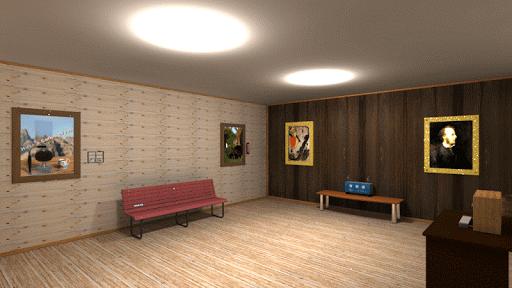 脱出ゲーム 絵画のある部屋