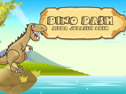 dinosaur jumping Jurassic Rush