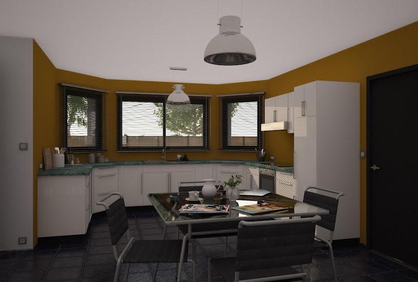 Vente Terrain + Maison - Terrain : 600m² - Maison : 135m² à Sonzay (37360)