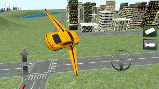 Flying Muscle Transformer Car