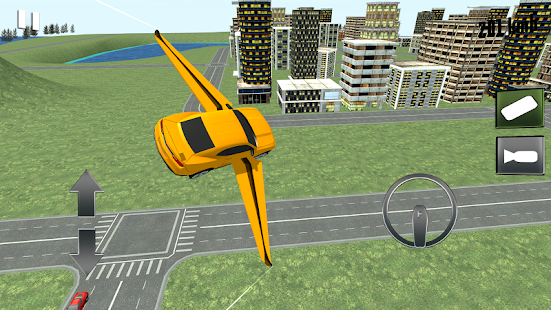 Flying Muscle Transformer Car screenshot