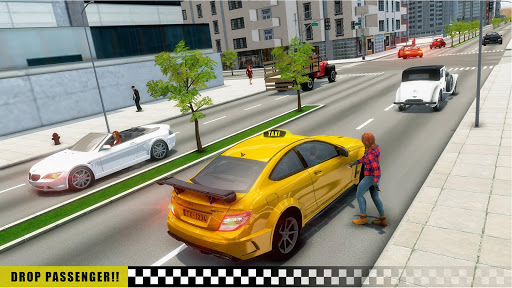 Mobile Taxi Car Driving Games Police Car Simulator 1.4 screenshots 4