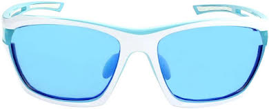 Optic Nerve Cassette Sunglasses: Powder Blue/White, with Smoke Ice Blue Mirror Lens and additional Copper Lens alternate image 1