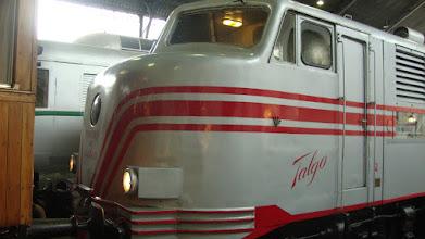 Photo: Locomotora Talgo II.
