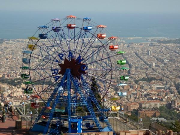 Parque de 'atracciones del Tibidabo, Barcelona