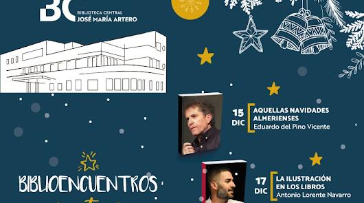 'Biblioencuentros con autores en Navidad', nuevo ciclo en la Biblioteca Central