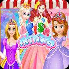 Elsas cloths shop - Dress up games for girls icon