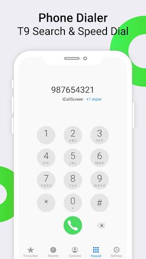 iCallScreen - OS14 Phone X Dialer Call Screen 1.3.7 screenshots 4