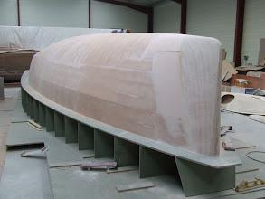 Photo: le moule de coque - 10.12.2008