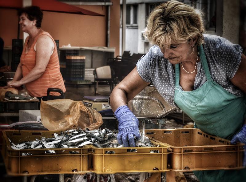 Il mercato del pesce, Spalato. di stefania_bernardini
