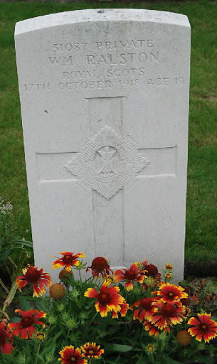 William Ralston grave