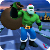 Monster Santa Hero: Xmas Crime Battle