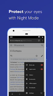 Browser Opera Beta Screenshot