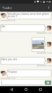 leaves:Friends,Matching,SNS screenshot 1