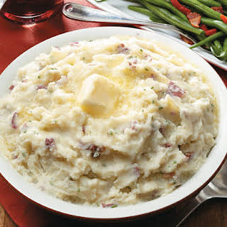 Mashed Red Potatoes.