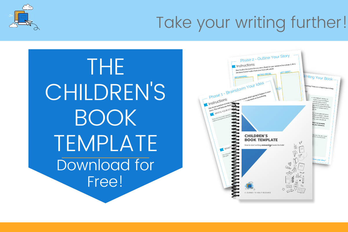 Children's Book Template Free Download