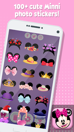 Minni Mouse Photo Stickers 1.0 screenshots 2
