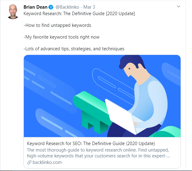 updating the old content by brian dean