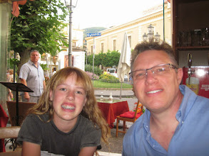 Photo: Dinner in Sorrento the night Italy lost their World Cup game. Man, was everyone subdued after that.
