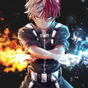 Shoto Todoroki New Tab Theme
