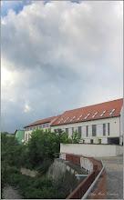 Photo: Turda -  Paraul Racilor - vedere diin curtea muzeului - 2018.05.19