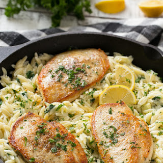 One Pot Chicken with Creamy Spinach Artichoke Pasta
