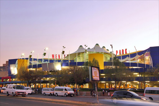 Menlyn Park mall, in Pretoria. File photo