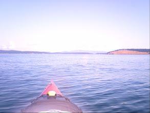 Photo: Crossing Spieden Channel.