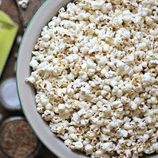 Stove-Top Popcorn.