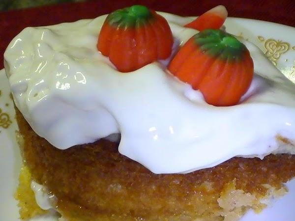Luscious Layered Pumpkin Patch Cake Recipe