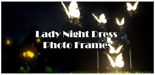 Lady Night Dress Photo Frames for PC