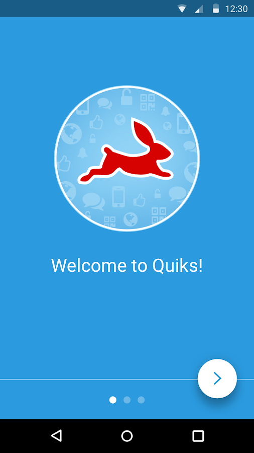 Quiks- screenshot