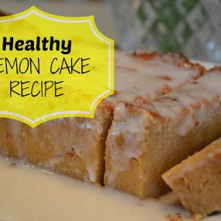Healthy Lemon Cake.