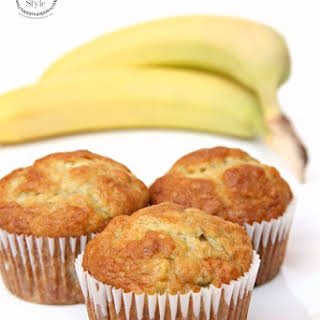 Perfect Banana Muffins and a Kitchen Aid Giveaway.