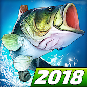 Fishing Clash: Catching Fish Game. Bass Hunting 3D Icon