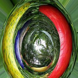 Eye to heaven by Vijay Govender - Digital Art Abstract
