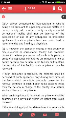 California Penal Code Screenshot
