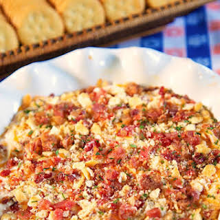 Cheesy Bacon and Pecan Dip.