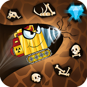 Digger Machine dig and find minerals 2.7.0 by eRapid Studio Casual Arcade Puzzle Games logo