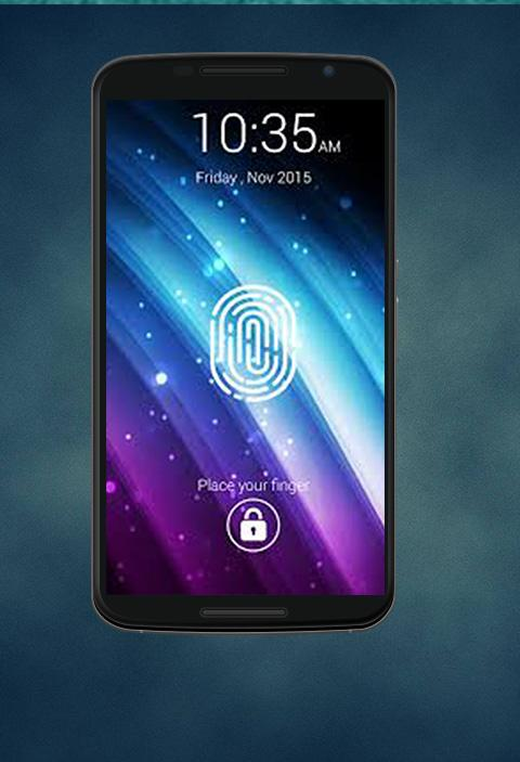 Screenshots of FingerPrint Lock Screen Prank for iPhone