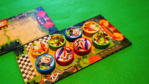 キングダムラン:ゲーム終了時の様子