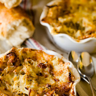 French Onion Soup Pie
