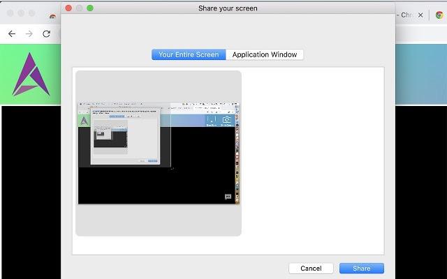 Wiztute Screen Sharing